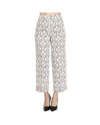 Twin Set | Black Pants Trouser Women | Lyst