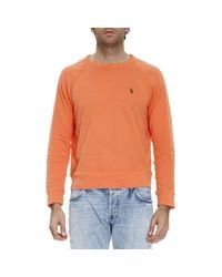 Polo Ralph Lauren | Orange Sweater Men for Men | Lyst
