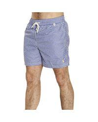 Polo Ralph Lauren - Blue Swimsuit Swimwear Men for Men - Lyst