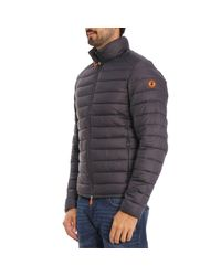 Save The Duck - Gray Jacket Men for Men - Lyst