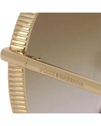 Dolce & Gabbana - Brown Sunglasses Women - Lyst