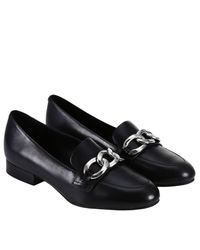 MICHAEL Michael Kors - Black Loafers Shoes Women - Lyst