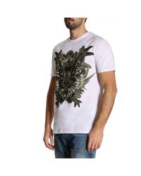 Roberto Cavalli - White T-shirt Men for Men - Lyst