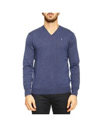 Polo Ralph Lauren | Blue Sweater Man for Men | Lyst