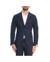 L.b.m. 1911 - Blue Suit Men for Men - Lyst