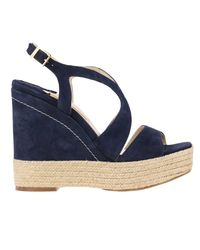 Paloma Barceló - Blue Wedge Shoes Shoes Women - Lyst