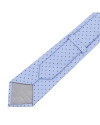 Armani | Blue Tie Men for Men | Lyst