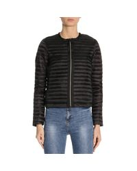 Save The Duck - Black Jacket Women - Lyst