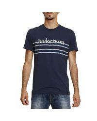 Jeckerson - Blue T-shirt Men for Men - Lyst