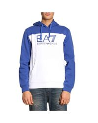 EA7 - White Sweater Men Ea7 for Men - Lyst