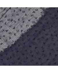 Armani Jeans - Blue Scarf Women - Lyst