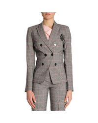 Pinko - Black Jacket Women - Lyst