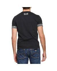 EA7 - Black T-shirt Men Ea7 for Men - Lyst