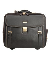 Brooks Brothers - Black Travel Bag Suitcase Man for Men - Lyst