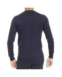 Aquascutum   Blue Sweater Man for Men   Lyst