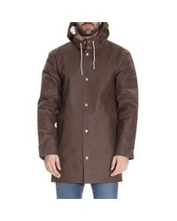 Stutterheim - Brown Coat Men for Men - Lyst
