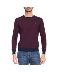 Brooksfield - Purple Sweater Men for Men - Lyst