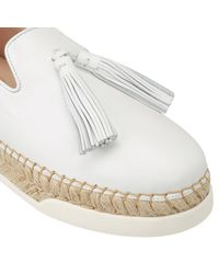 Tod's - White Wedge Shoes Shoes Women - Lyst