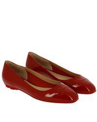 Ferragamo - Red Shoes Women - Lyst