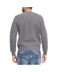 Emporio Armani | Gray Sweater Men for Men | Lyst