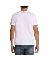 Roberto Cavalli - White T-shirt Men for Men - Lyst