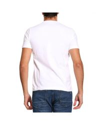 EA7 - White T-shirt Men Ea7 for Men - Lyst