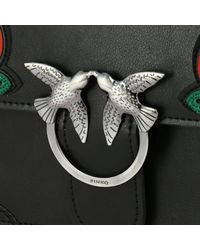 Pinko - Black Crossbody Bags Shoulder Bag Women - Lyst