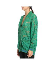 Pinko - Green Sweater Women - Lyst
