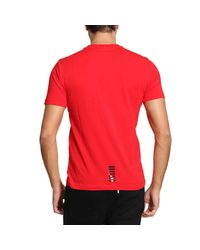 EA7 - Red T-shirt Men Ea7 for Men - Lyst
