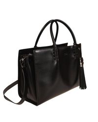 Tod's - Black Handbag Shoulder Bag Women - Lyst
