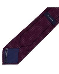 Ermenegildo Zegna | Purple Tie Men for Men | Lyst