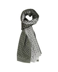 Hydrogen - Gray Scarf Men for Men - Lyst