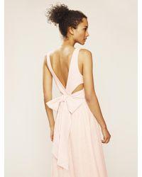 SJP by Sarah Jessica Parker Bow Back Bodysuit - Lyst 8ffd5d990