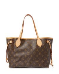 Louis Vuitton - Brown Vintage Monogram A Neverfull Mm Tote - Lyst
