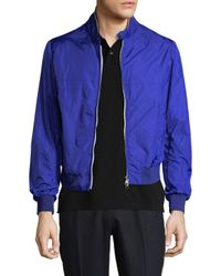 Moncler - Blue Jacket for Men - Lyst