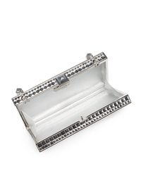 Judith Leiber Couture | Metallic Perfect Rectangle Studded Convertible Clutch | Lyst