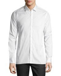 Lanvin - White Button-down Shirt for Men - Lyst