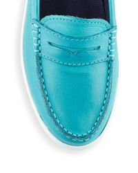 Cole Haan - Blue Nantucket Loafers - Lyst