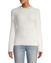 Paul & Joe - White Coco Crew Sweater - Lyst