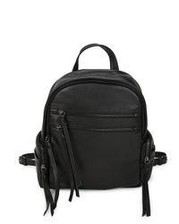 Kooba   Black Tassel Leather Backpack   Lyst