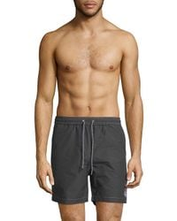 Psycho Bunny - Blue Bunny Swim Shorts for Men - Lyst