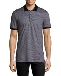 Antony Morato - Gray Geometric Polo Shirt for Men - Lyst