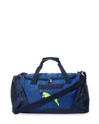 f0ccd92c15 Lyst - Puma Contender Duffel Bag in Blue for Men