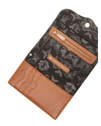 Rebecca Minkoff - Brown Universal Tech Leather Wristlet - Lyst