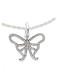 Ippolita | Metallic Ippolitini 0.39 Tcw Diamond & Sterling Silver Butterfly Charm Pendant | Lyst