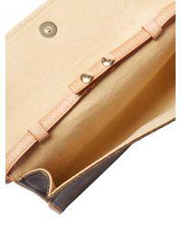Louis Vuitton - M51854 Monogram Pochette Twin Pmwaist Pouch Brown Monogramcanvas Lv 0340 - Lyst