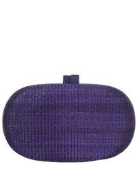 Serpui - Purple Amelie Hwb Clutch - Lyst