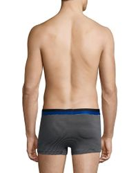 2xist - Blue 2(x)ist Barcode Extra Soft Trunk for Men - Lyst