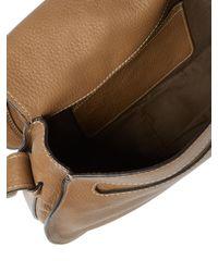 Chloé - Brown 'marcie - Medium' Leather Crossbody Bag - Lyst