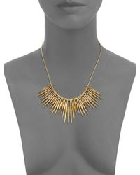 ABS By Allen Schwartz - Metallic Going Coastal Bar Frontal Necklace - Lyst